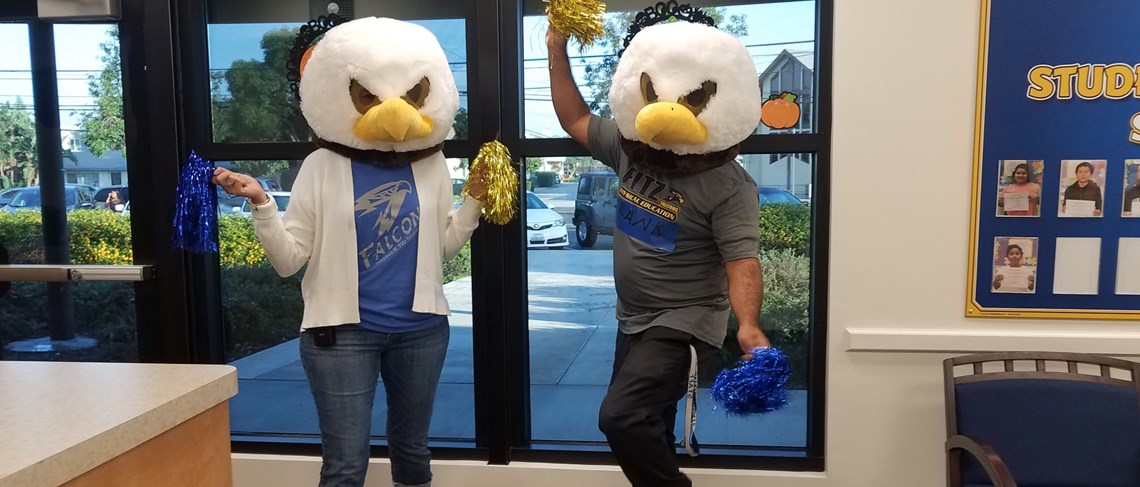 Fitz Falcons have SPIRIT! GO Falcons!