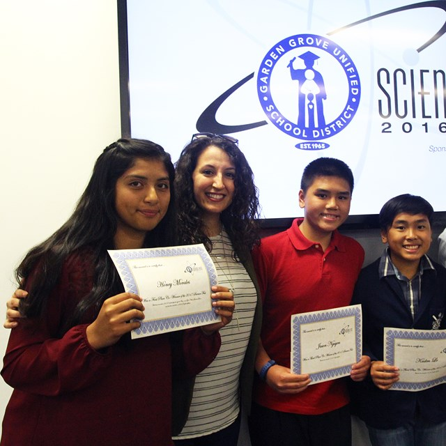 We are proud of our winning scholars at the Endologix Science Fair! Thank you for making a difference!