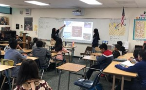 Fitz AVID Students Present about College and Career Goals - article thumnail image