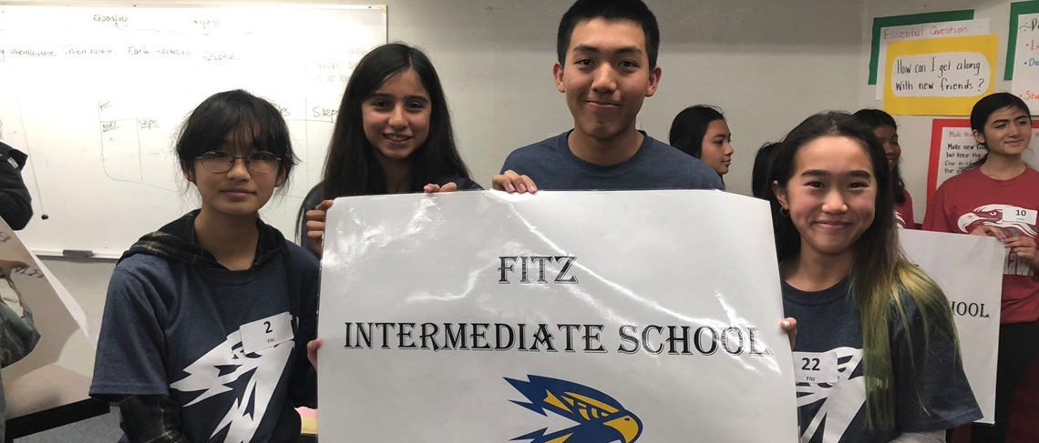 Fitz students are well-prepared for the district's annual Spelling Bee!