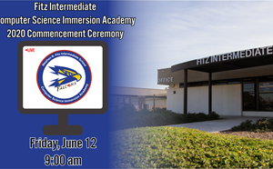 2020 FITZ Virtual Commencement Ceremony June 12th 9:00am on  YOUTUBE - article thumnail image