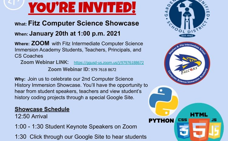 Fitz Computer Science Showcase - article thumnail image