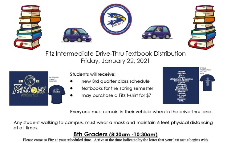Fitz Textbook Drive-thru Distribution - article thumnail image
